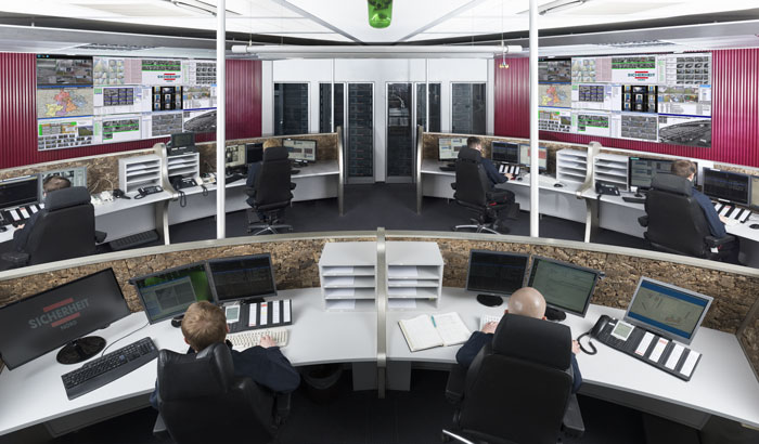 Our ultra-modern security centre in Berlin